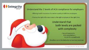 Santa understanding ACA compliance_Integrity Data