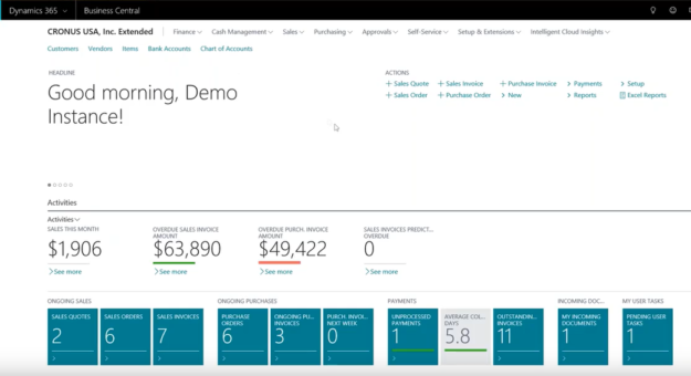 Dynamics 365 Service Management