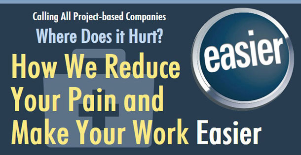 Calling all Project-based Companies. Where does it hurt? How to Make Your Work Easier