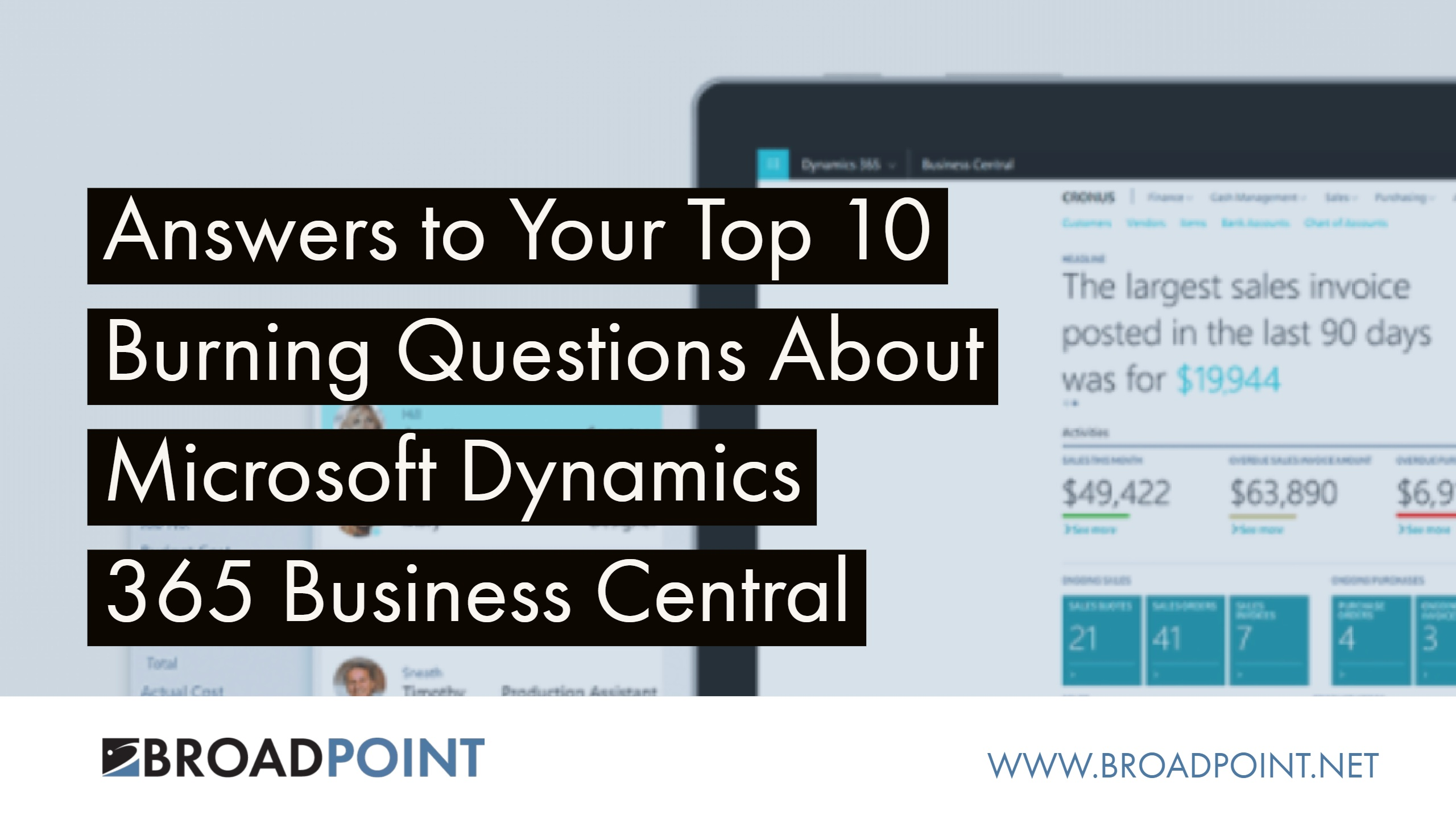10 Questions (and Answers) About Microsoft's New Cloud ERP