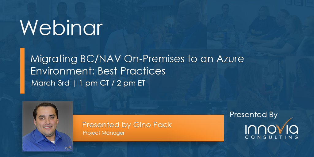 Migrating BC/NAV On-Premises to an Azure Environment: Best Practices