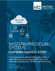 Western Precooling Systems Case Study Cover