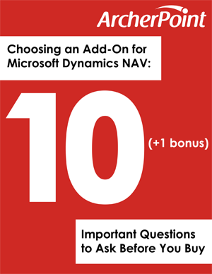Add-On Checklist for Dynamics NAV and Business Central