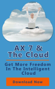 White Paper cover for AX& and cloud