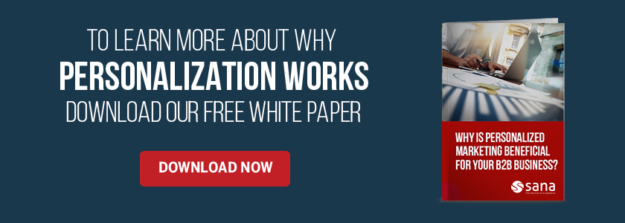 White Paper: Personalized Marketing for B2B