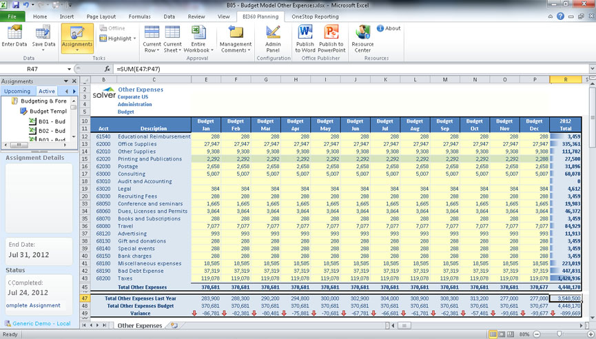 Excel Software Inventory Template