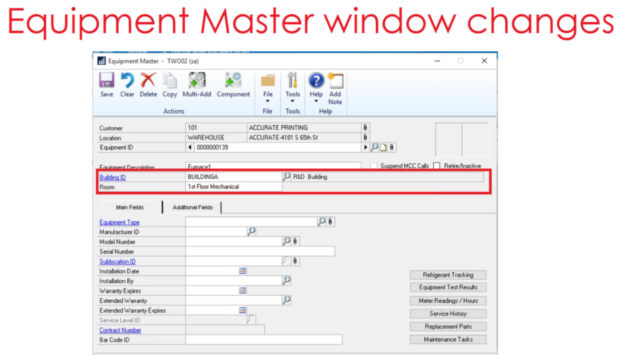WennSoft Signature Equipment Master