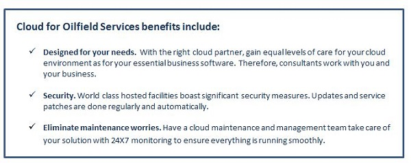 Cloud for Oilfield Services