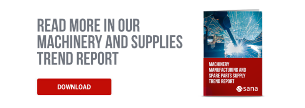 Machinery and Supplies Trend Report