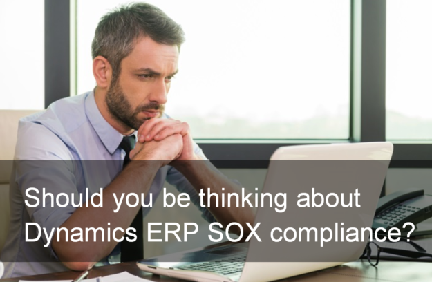 dynamics erp sox compliance