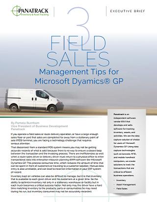 route sales microsoft dynamics GP