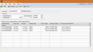 Reassign Customer Payment within Microsoft Dynamics GP-image 1