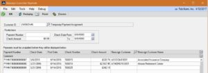 Reassign Customer Payment within Microsoft Dynamics GP-image 4