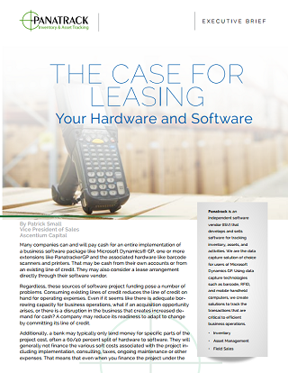 hardware and software leasing