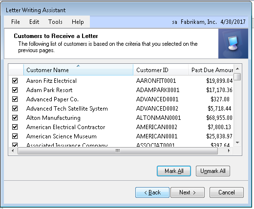 letter writing assistant erp software blog