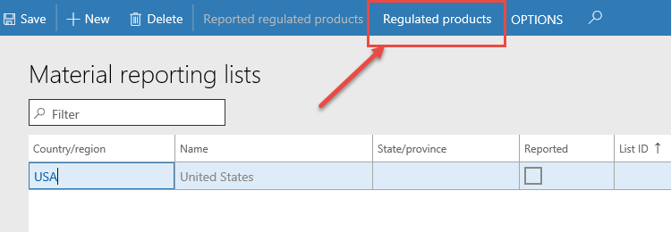 Product compliance features