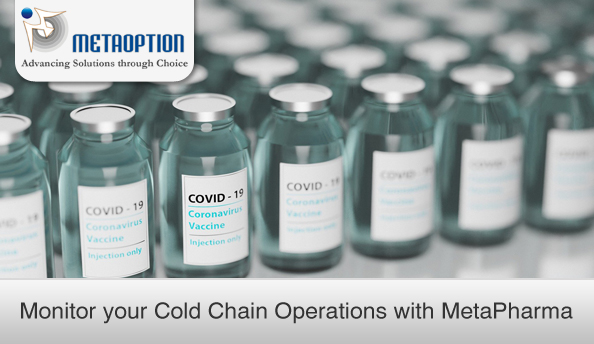 Monitor your Cold Chain Operations with MetaPharma