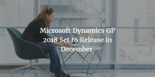 New version of Microsoft Dynamics GP