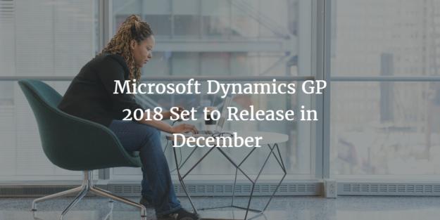 New version of Microsoft Dynamics GP
