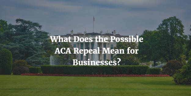 ACA Repeal business