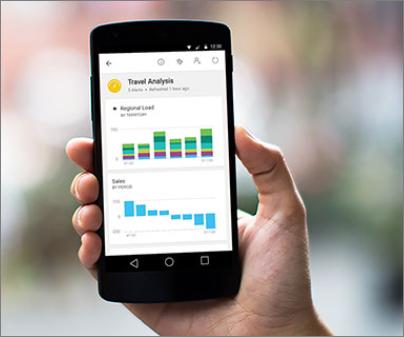 Microsoft's Business Intelligence Marked As Leader by Gartner as Mobile