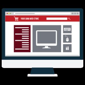 Electronics e-commerce site
