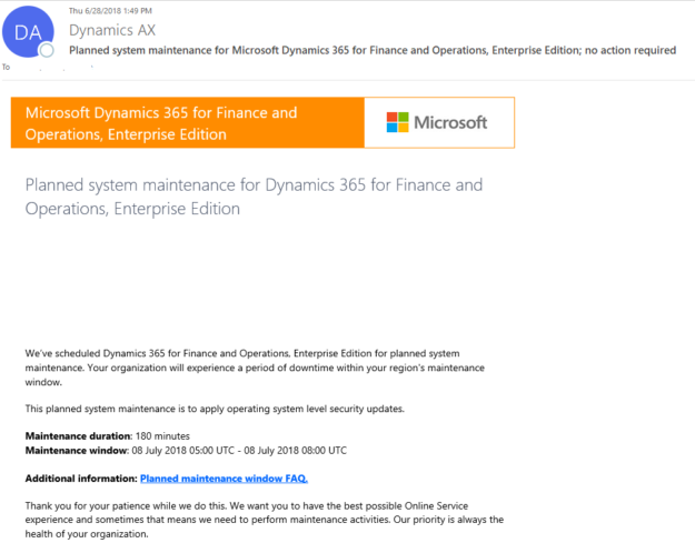 What is Microsoft's Initiated Maintenance? - ERP Software Blog