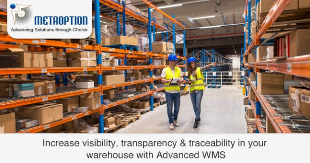 Advanced WMS: Increase visibility, transparency & traceability in your warehouse