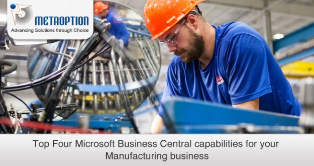 Microsoft Business Central capabilities