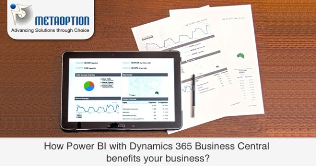 How does Power BI with Dynamics 365 Business Central benefit your business?