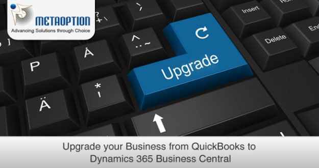 Upgrade your Business from QuickBooks to Dynamics 365 Business Central