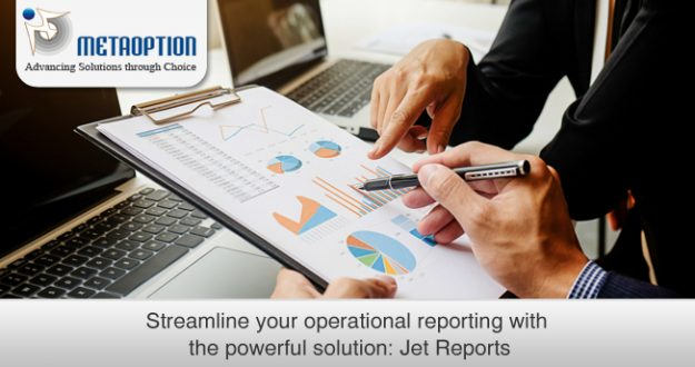 Streamline your operational reporting with the powerful solution: Jet Reports