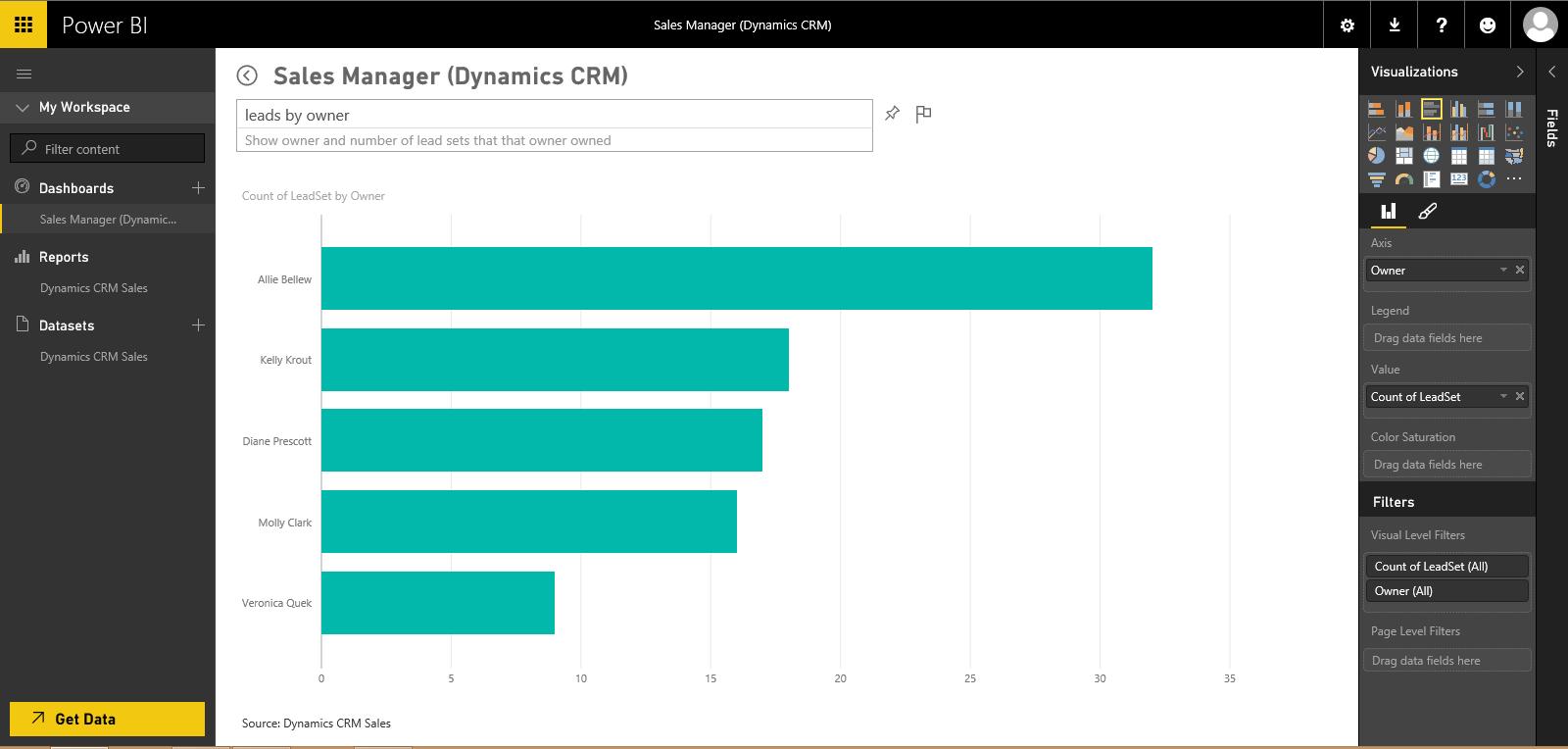 Microsoft Power Bi Quick Tip Visualizations Erp