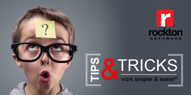 Dynamics GP TIps and Tricks