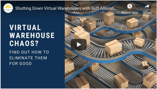 video virtual warehouses inventory management