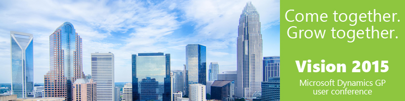 Microsoft Dynamics GP user conference Charlotte