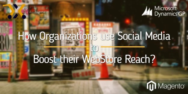 Webstore Social Media to boost eCommerce Business